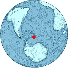 Location of Cook Island