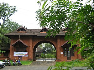 Thunchaththu Ezhuthachan - The present day entrance to Thunchan Parambu in Trikkantiyur