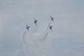 Thunderbirds Lockheed-Martin F-16C Fighting Falcons Diamond 3rd Pass 03 SNF 16April2010 (14443753640).jpg