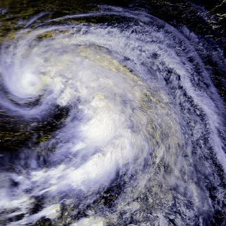 1986 Pacific typhoon season - Image: Tip 16 aug 1986 0325Z