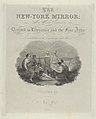 Title Page- The New York Mirror, A Weekly Journal, Devoted to Literature and the Fine Arts. Embellished with Engravings and Music, Volume IX MET DP837861.jpg