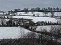 Tiverton , Snowy Hillsides - geograph.org.uk - 1655279.jpg