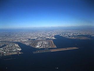 Haneda Airport domestic airport serving Tokyo, Japan