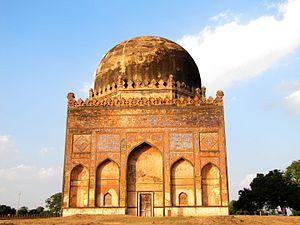 Ahmad Shah I Wali - Tomb of Empress