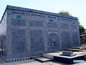 Multan - Multan is famous for its large number of Sufi shrines, including the unique rectangular tomb of Shah Gardez that dates from the 1150s and is covered in blue enameled tiles typical of Multan.