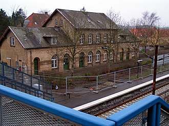 Tommerup Stationsby - Tommerup railway station