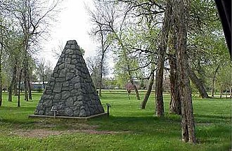 National Register of Historic Places listings in Sheridan County, Wyoming - Image: Tongue River Battlefield By Phil Konstantin