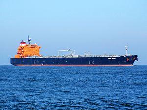 Torm Ismini p3 approaching Port of Rotterdam, Holland 18-Jan-2005.jpg