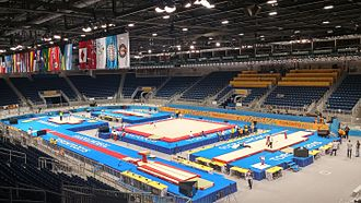 Venues of the 2015 Pan American and Parapan American Games - Toronto Coliseum during the gymnastics competitions