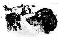 Toulouse-Lautrec - ETUDE DE TETES DE CHIENS ET CHIENS, 1880, MTL.28.jpg