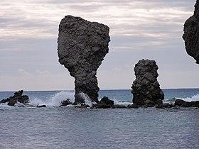 Tourkos rock, Lemnos