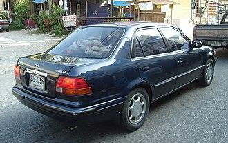 Toyota Corolla (E110) - 1996–1998 Corolla sedan (Asia)