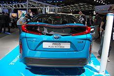 Rear Badging Of The European Prius Phv