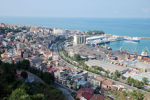 Trabzon,harbour