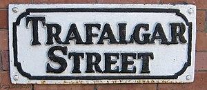 Leylands, Leeds - Street Sign