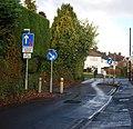 Traffic calming, Spot Lane - geograph.org.uk - 1610701.jpg