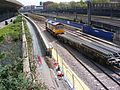 Train carrying track for Crossrail London 11.JPG