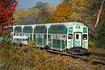 Trainspotting GO train -923 banked by MPI MP40PH-3C -609 (8123506299).jpg