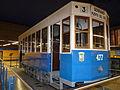 Tram in metrostation Pinar de Chamartin.jpg