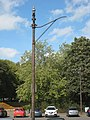 Tram pylons in Roundhay 11 September 2018 1.jpg