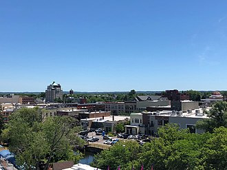 Traverse City, Michigan - Traverse City as seen from the Open Space
