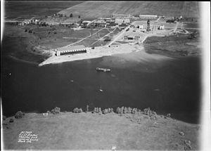 CFB Trenton - Aerial view of RCAF Station Trenton, June 1936