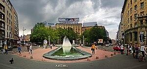Nikola Pašić Square - Nikola Pašić Square in June 2009.