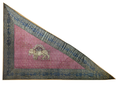 Triangular silk flag of Qajar Dynasty Iran.png