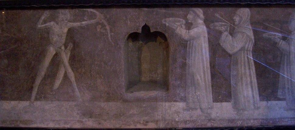 Trionfo della morte - Chiesa S. Maria Annunciata - Bienno (ph Luca Giarelli)