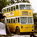 Trolleybus LTN 501 at Beamish 1973 (cropped).jpg