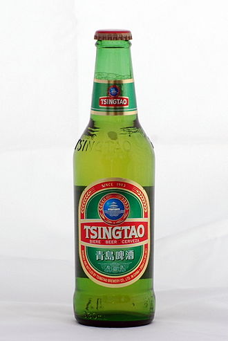 Qingdao - Qingdao-based Tsingtao beer, China's second-largest domestic brand and its largest export brand.