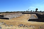 Mesoamerican ball court 1 at the Tula archeological site
