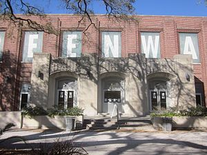 Devlin Fieldhouse - Image: Tulane U Mch 2013 Freret Gym Entrance