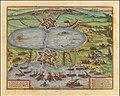 Tunes Urbs - Tunetis Urbis, ac Novae Eius Arcis, et Guletae, quae Philippo Hispan Regi Parent.jpg