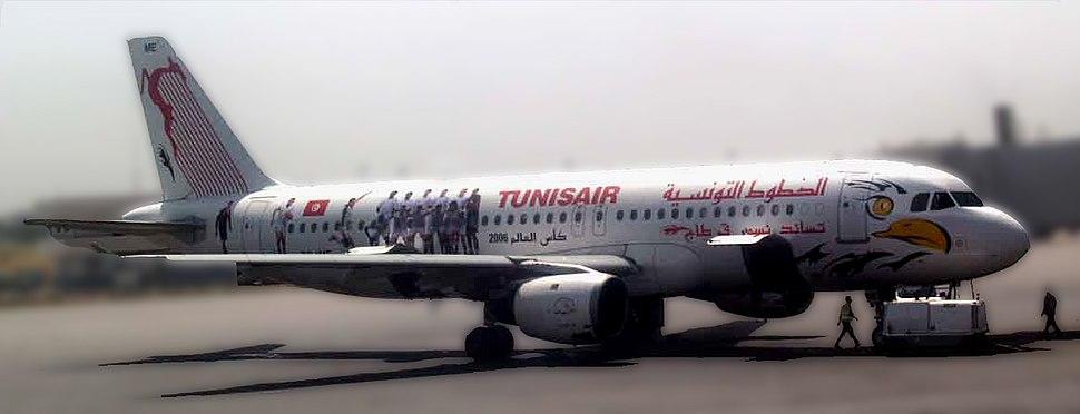 Tunis air foot 2006 fondflou