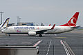 Turkish Airlines, TC-JHY, Boeing 737-8F2 (15836297733).jpg