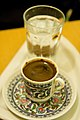 Turkish coffee in a traditional design cup.jpg