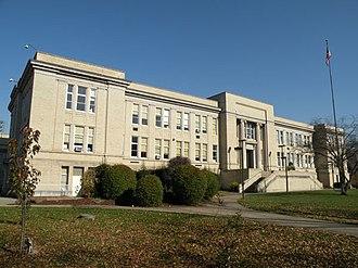 Turtle Creek, Pennsylvania - Turtle Creek High School, built in 1917.
