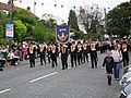 Twelfth parade, Hamiltonsbawn Road, Armagh - geograph.org.uk - 1400153.jpg