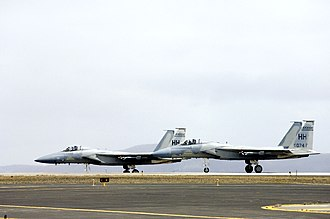 Iceland in the Cold War - United States F-15 at Keflavík Air Base.