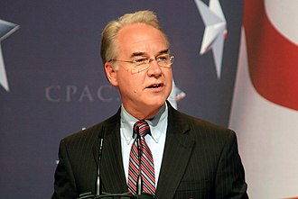 Tom Price (American politician) - Congressman Price speaking at the 2010 Conservative Political Action Conference (CPAC)