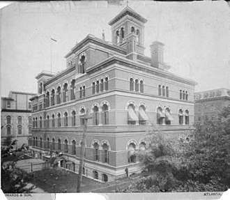 United States Post Office and Customs House (Atlanta) - In use as a customs house and post office