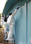 U.S. Sailors embarked aboard the amphibious assault ship USS Iwo Jima (LHD-7) paint a school in Limon, Costa Rica, Aug. 23, 2010, during Continuing Promise 2010 100823-M-PC721-073.jpg