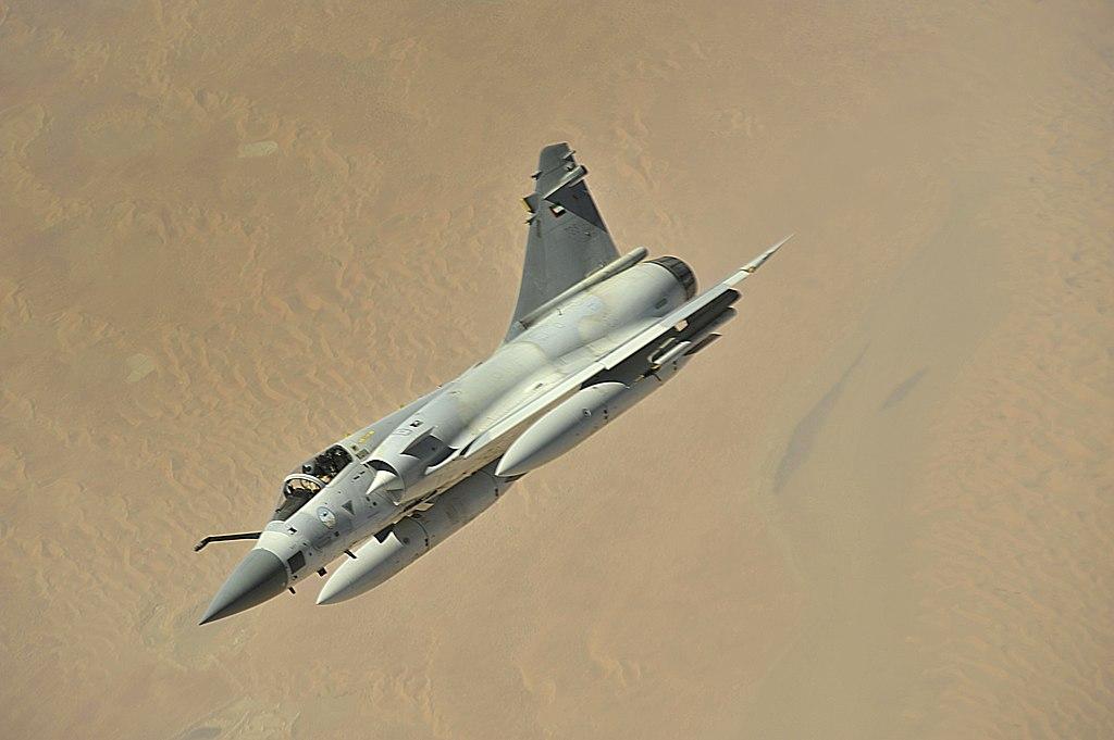 المقاتله الفرنسيه Dassault Mirage 2000  1024px-UAE_Mirage_2000