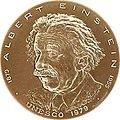 UNESCO Einstein medal1.jpg