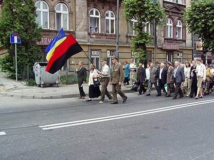 March of UPA veterans through Przemysl UPAPrzemysl.jpg