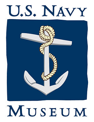 Logo for the U.S. Navy Museum.