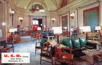 Washington Union Station - U.S.O. Lounge (former Presidential Suite)