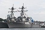 USS Curtis Wilbur (DDG-54) left front view at U.S. Fleet Activities Yokosuka April 30, 2018 02.jpg