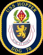 USS Hopper DDG-70 Crest.png
